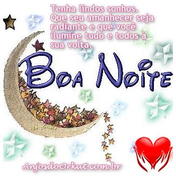 Boa noite, lindos sonhos